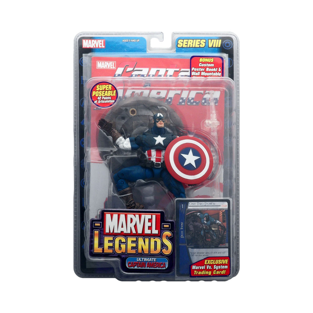 Marvel Legends Series VIII Ultimate Captain America (blue version)