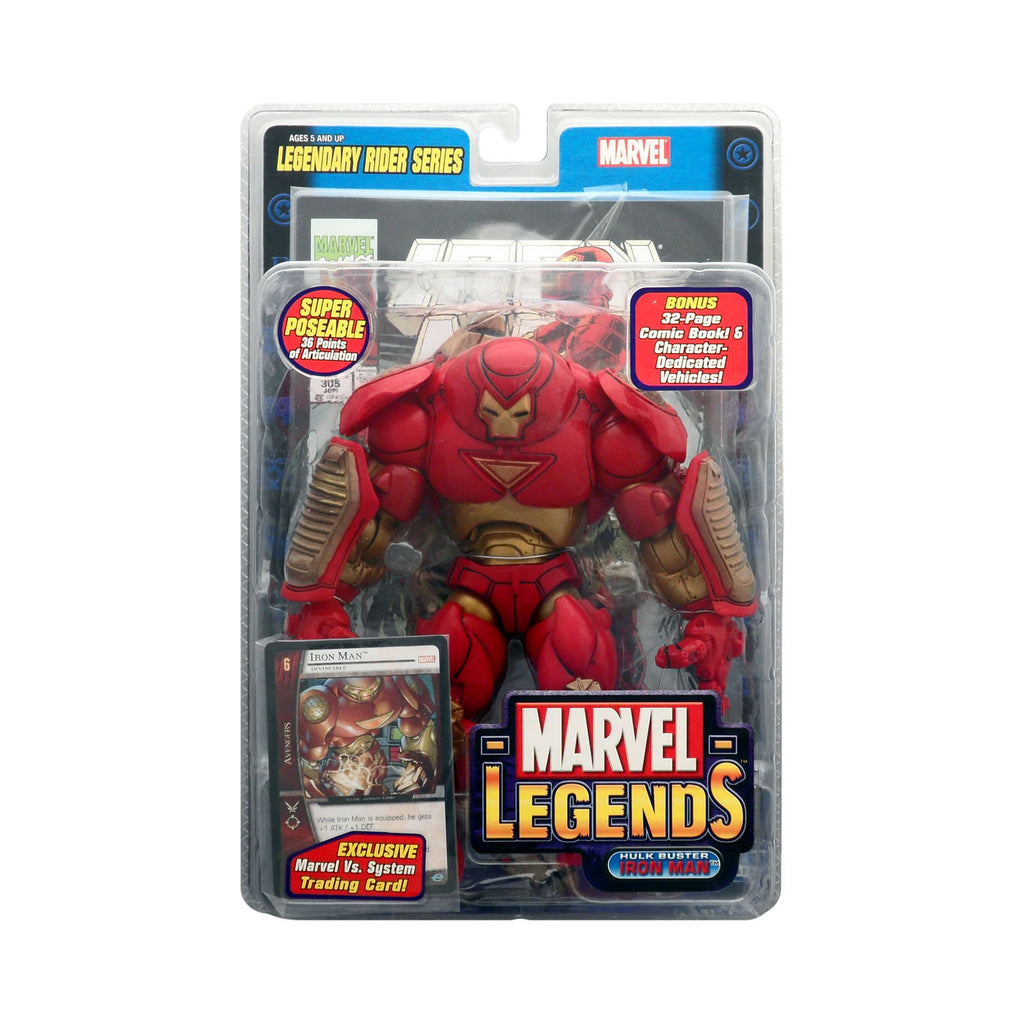 Marvel Legends Legendary Rider Series Hulkbuster Iron Man