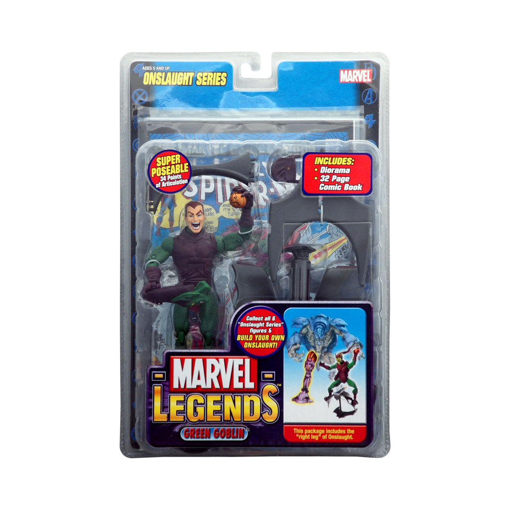Marvel Legends Onslaught Series Green Goblin (unmasked variant)