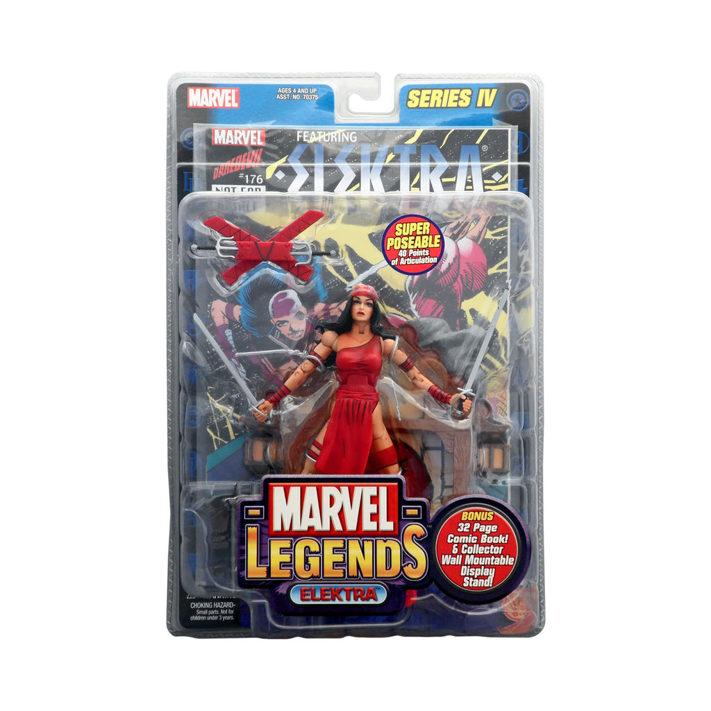 Marvel Legends Series IV Elektra