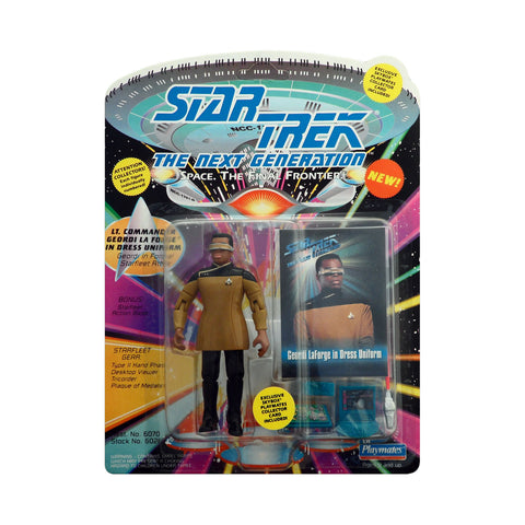 Lt. Cmdr. Geordi La Forge in Dress Uniform from The Next Generation