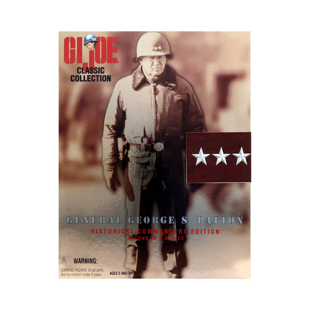 G.I. Joe Historical Commanders Edition General George S. Patton