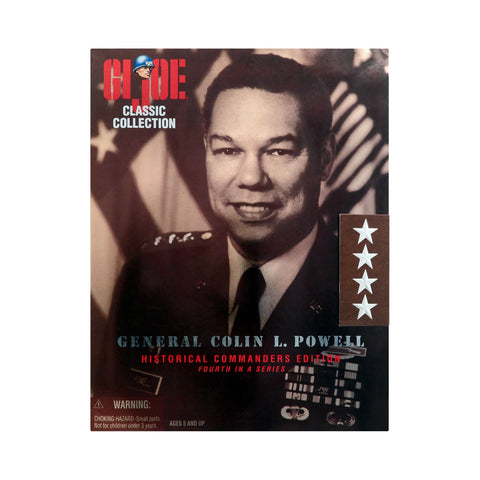 G.I. Joe Historical Commanders Edition General Colin L. Powell