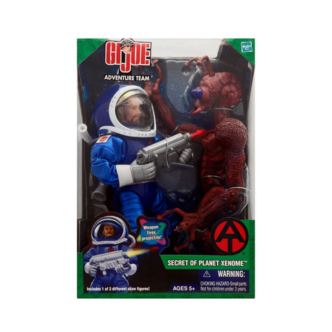 G.I. Joe Adventure Team Secret of Planet Xenome with Ant Alien