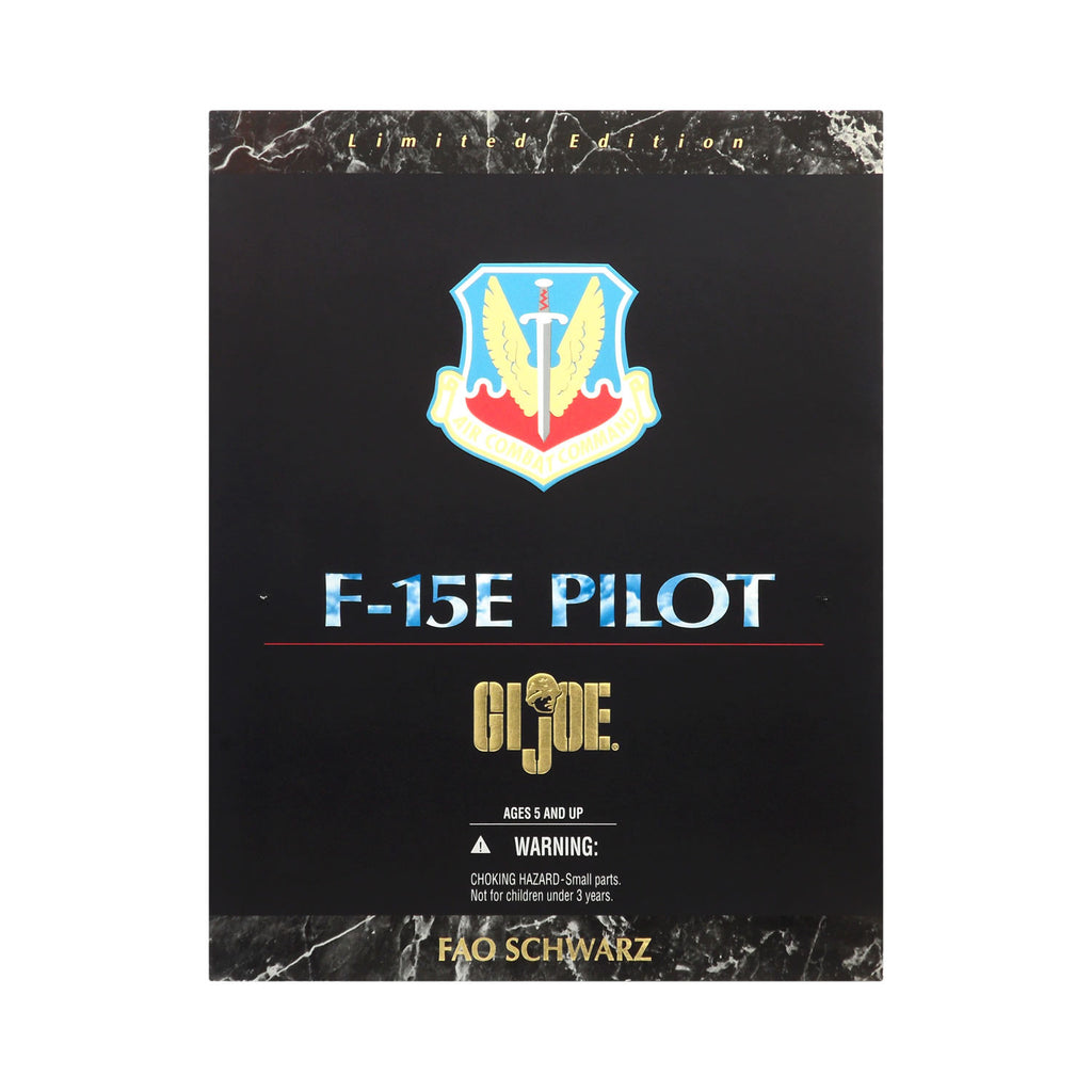 G.I. Joe F-15E Pilot FAO Schwarz Exclusive