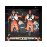 Star Wars Action Collection Wedge Antilles & Biggs Darklighter in Rebel Pilot Gear