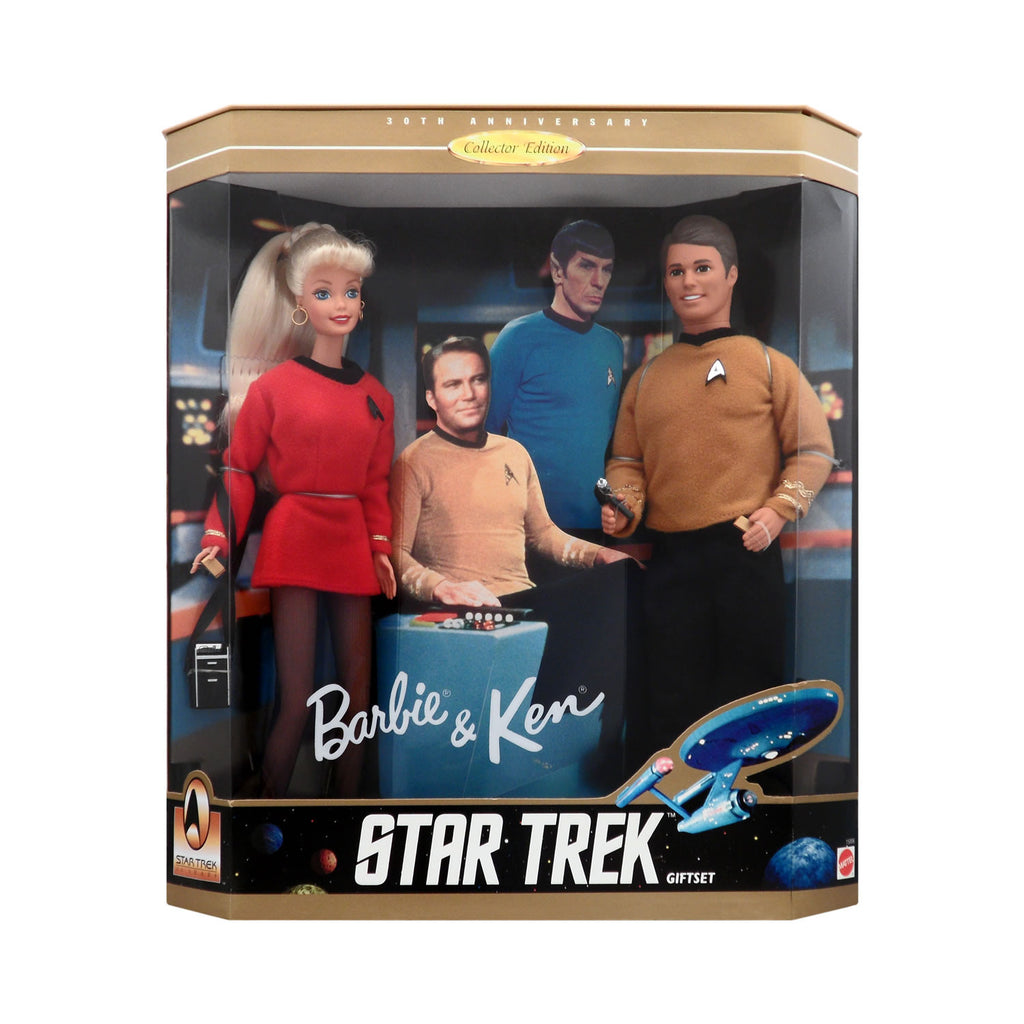 Star Trek 30th Anniversary Barbie & Ken