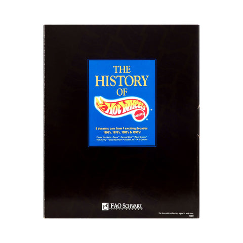 FAO Schwarz Exclusive The History of Hot Wheels