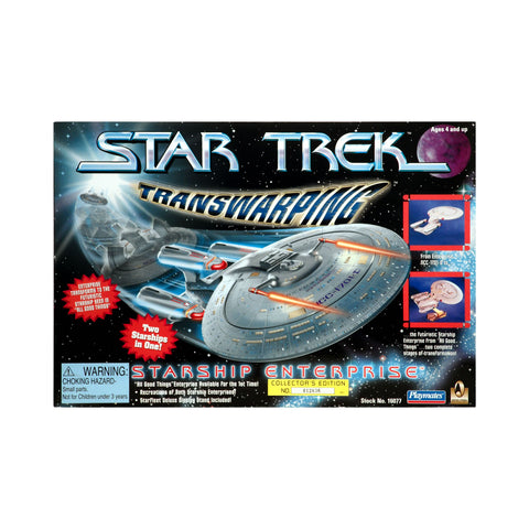 Transwarping Starship Enterprise from Star Trek