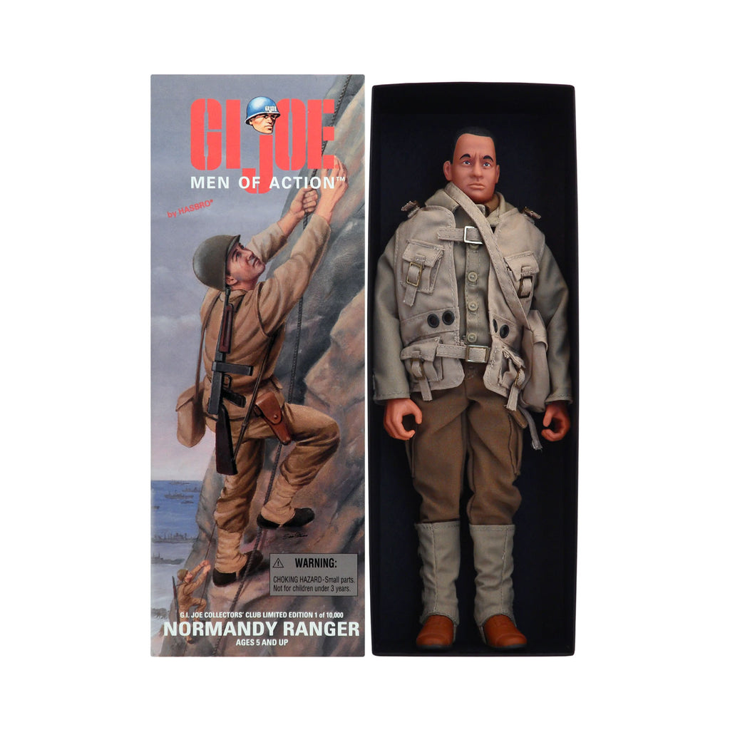 Rare G.I. Joe Normandy Ranger with Tom Hanks sculpt (clean-shaven)