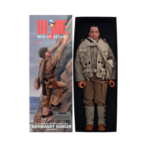 Rare G.I. Joe Normandy Ranger with Tom Hanks sculpt (with stubble)
