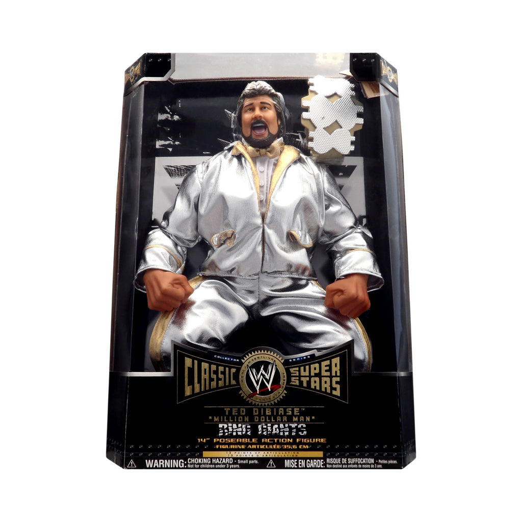 "Classic WWE Superstars Ring Giants Ted ""Million Dollar Man"" DiBiase"