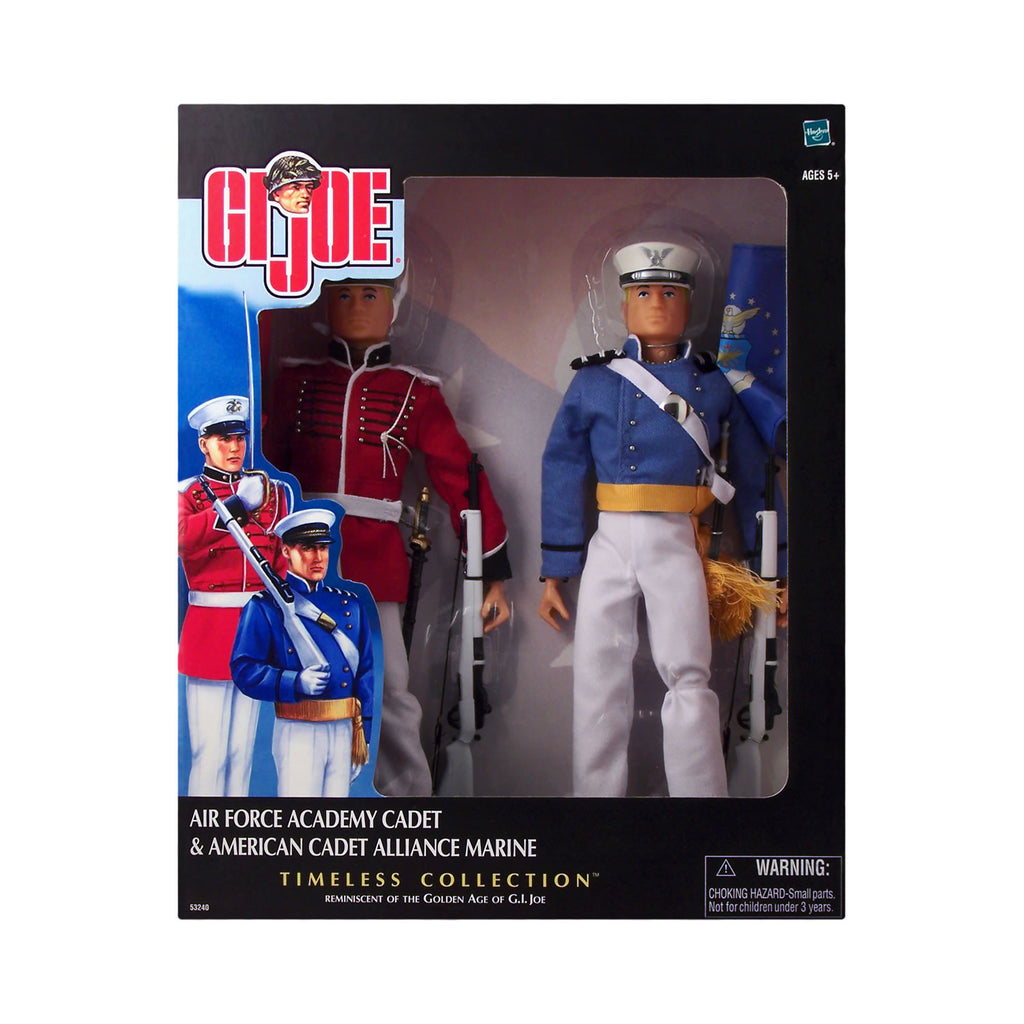 G.I. Joe Air Force Academy Cadet & American Cadet Alliance Marine