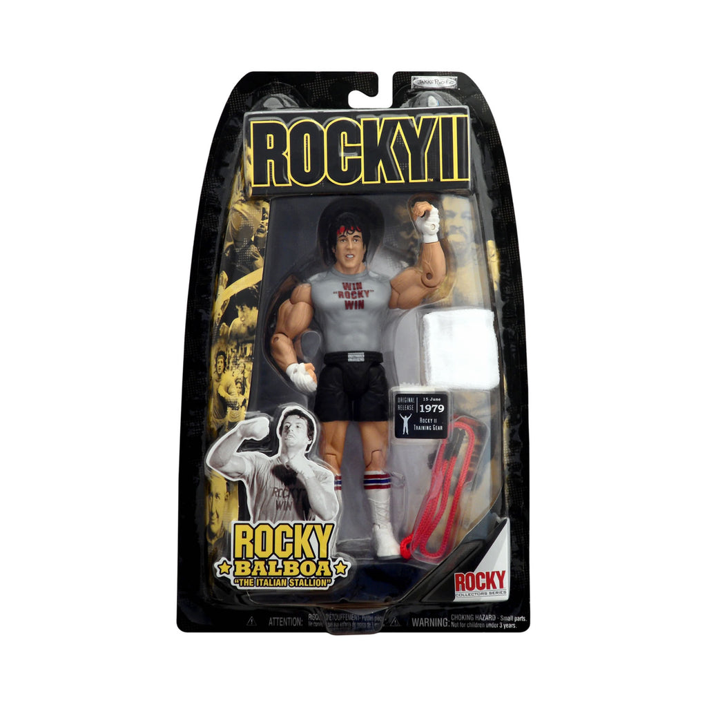 "Rocky II Rocky Balboa ""The Italian Stallion"" in Training Gear"