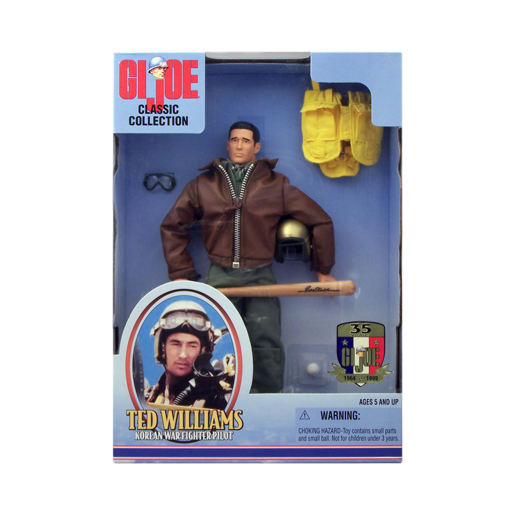G.I. Joe Classic Collection Ted Williams Korean War Fighter Pilot