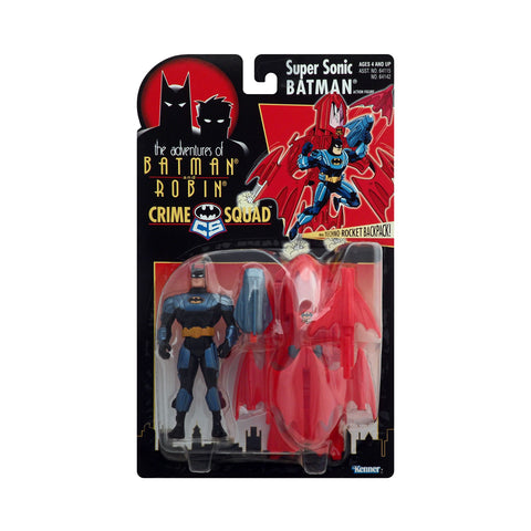 Crime Squad Super Sonic Batman from the Adventures of Batman and Robin