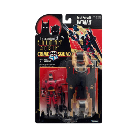 Crime Squad Fast Pursuit Batman from the Adventures of Batman and Robin