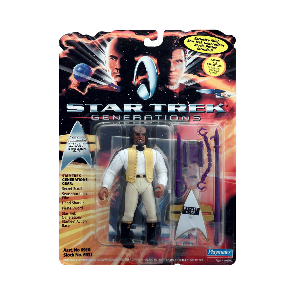 Lieutenant Commander Worf in 19th Century Outfit from Star Trek: Generations