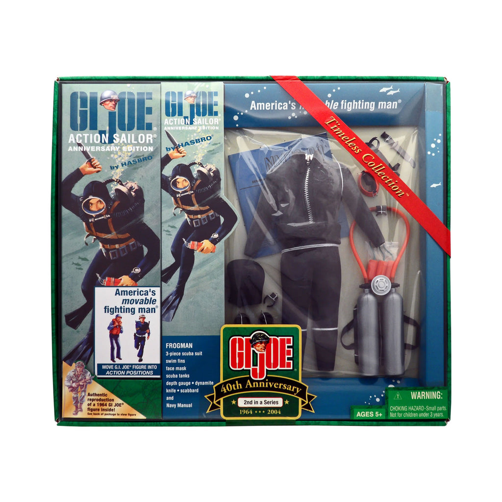 G.I. Joe 40th Anniversary Action Sailor with Frogman 2nd Set in a Series