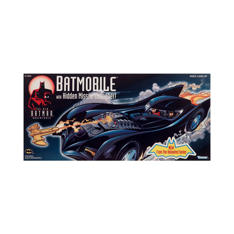 Batmobile with Hidden Missile Launcher from the New Batman Adventures