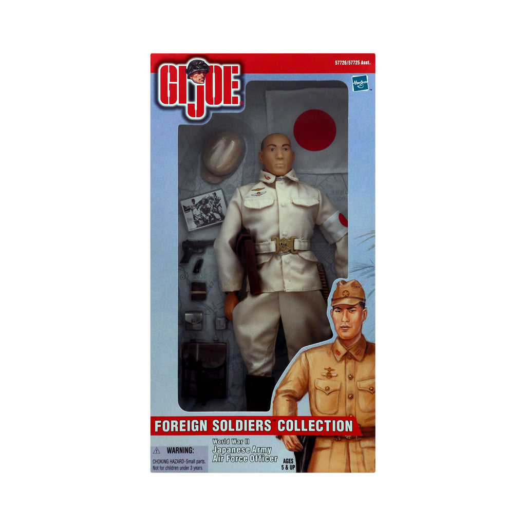 G.I. Joe Foreign Soldiers Collection World War II Japanese Army Air Force Officer