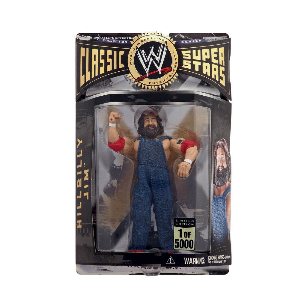 """Road to Wrestlemania Tour"" Exclusive Classic WWE Superstars Hillbilly Jim (1 of 5000)"