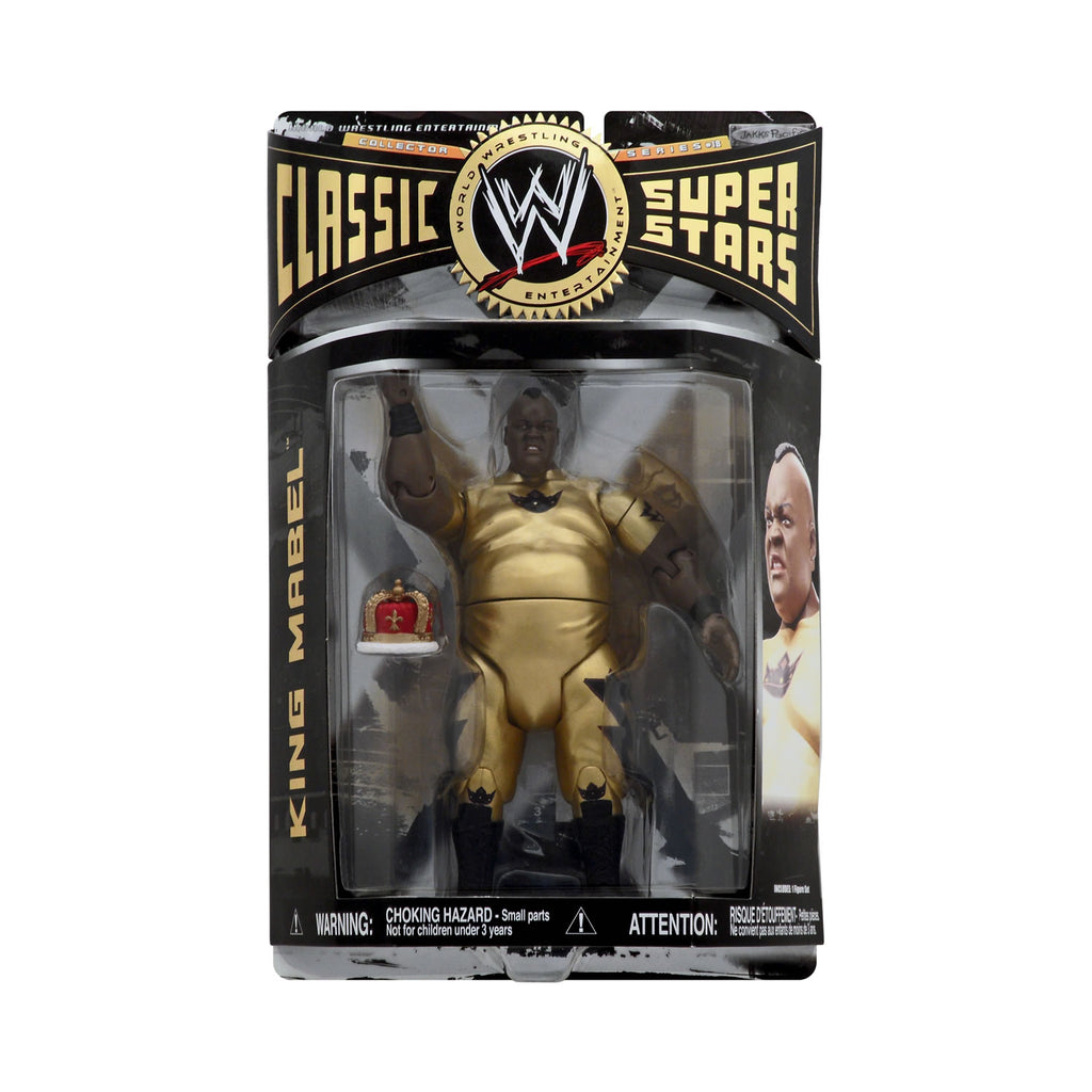 Classic WWE Superstars Series 18 King Mabel
