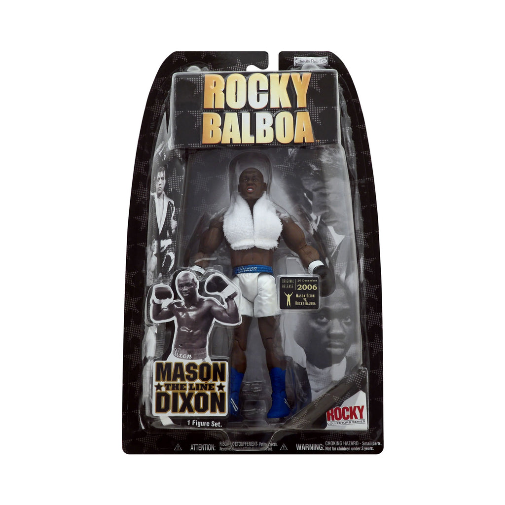 "Rocky Balboa Mason ""The Line"" Dixon (vs. Rocky Balboa Ring Gear)"