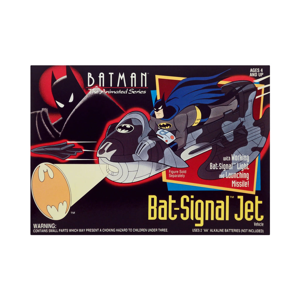 Bat-Signal Jet from Batman: The Animated Series