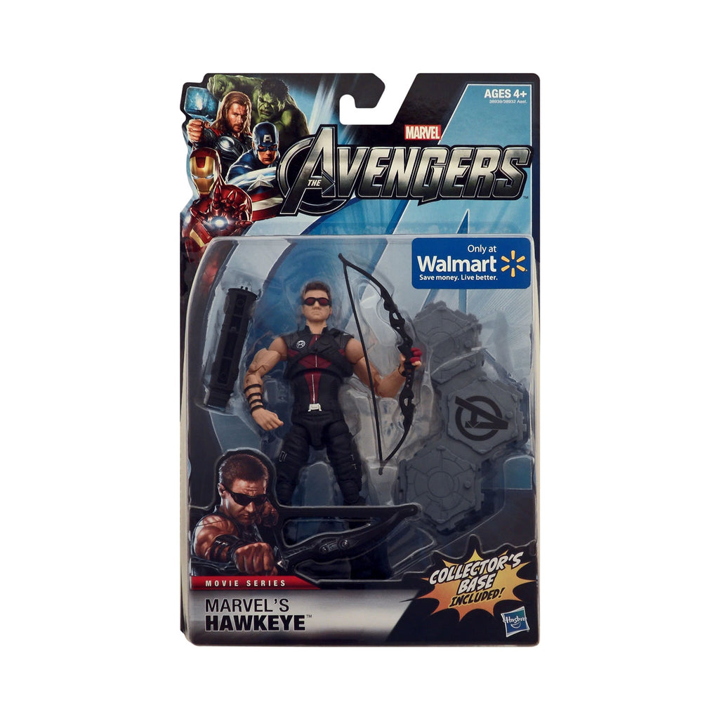 Wal-Mart Exclusive The Avengers Movie Series 6-inch Scale Hawkeye