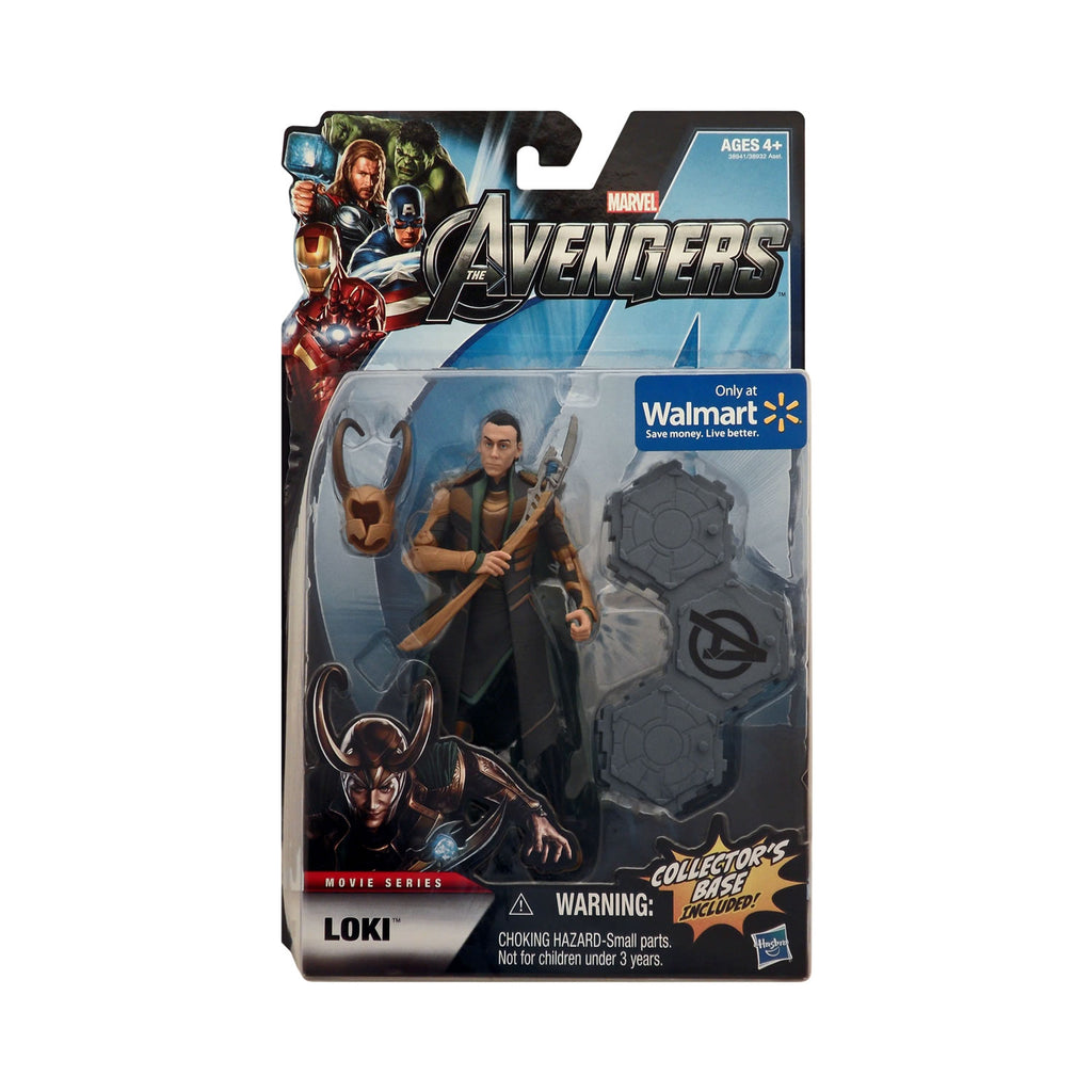 Wal-Mart Exclusive The Avengers Movie Series 6-inch Scale Loki