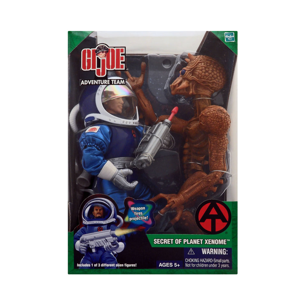 G.I. Joe Adventure Team Secret of Planet Xenome with Orange Alien (Asian)