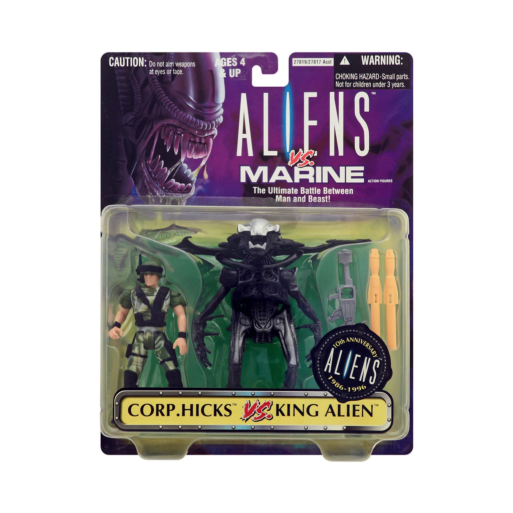 Corp. Hicks vs. King Alien 2-Pack from Aliens vs. Marine
