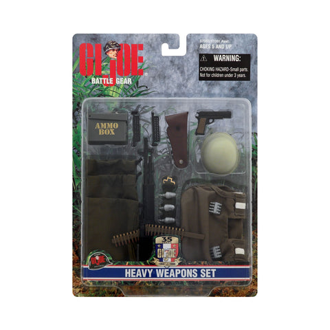 G.I. Joe Battle Gear Heavy Weapons Set