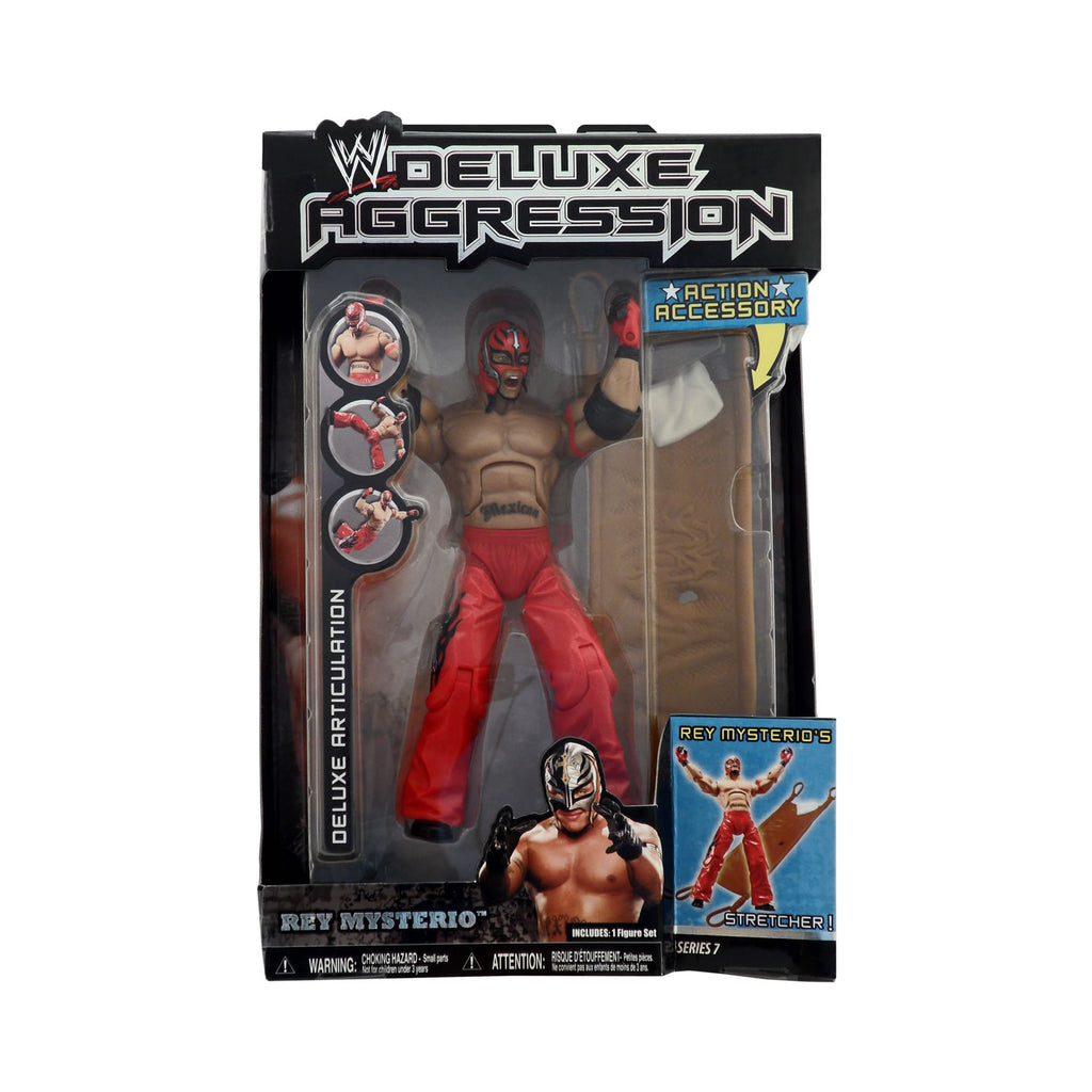 Deluxe Aggression Series 7 Rey Mysterio