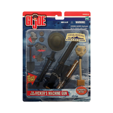 G.I. Joe Battle Gear Pearl Harbor Vicker's Machine Gun