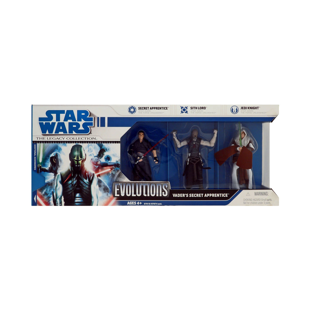 Star Wars Legacy Collection Vader's Secret Apprentice Evolutions 3-Pack