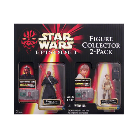 Darth Maul (Jedi Duel) & Anakin Skywalker (Tatooine) Star Wars: Episode 1 Figure Collector 2-Pack from Sam's Club