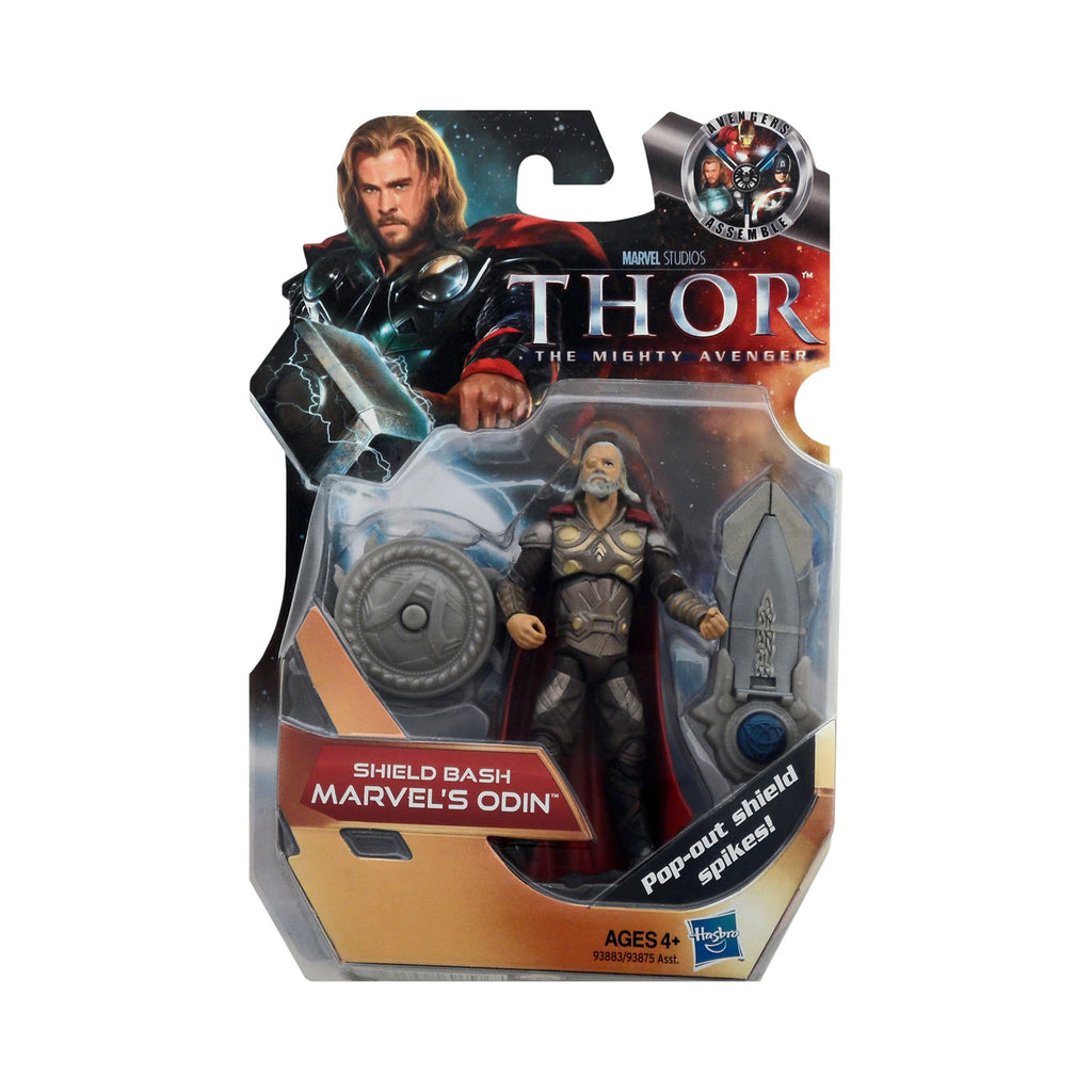 Shield Bash Marvel's Odin (silver armor) from Thor: The Mighty Avenger