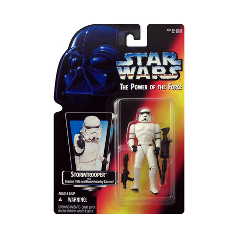 Star Wars: Power of the Force Stormtrooper (red card)