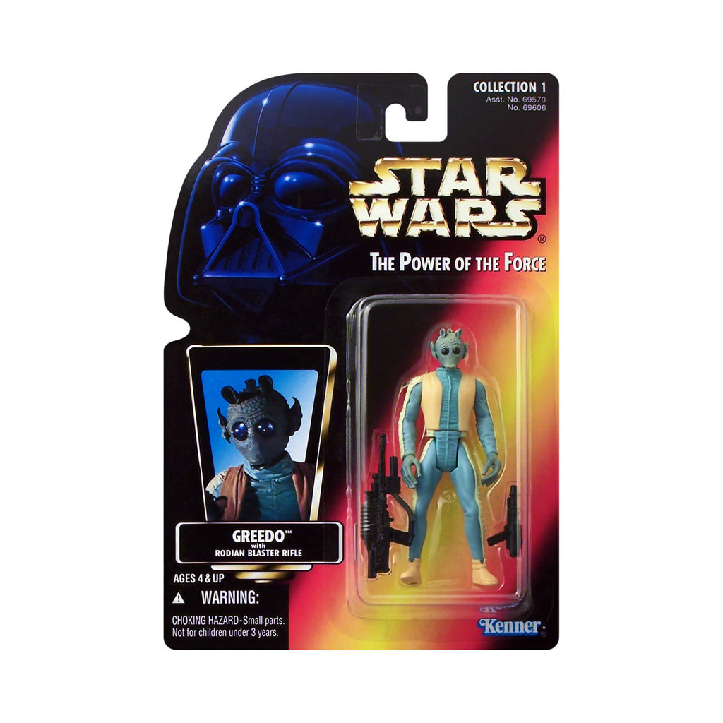 Star Wars: Power of the Force Greedo (red card)