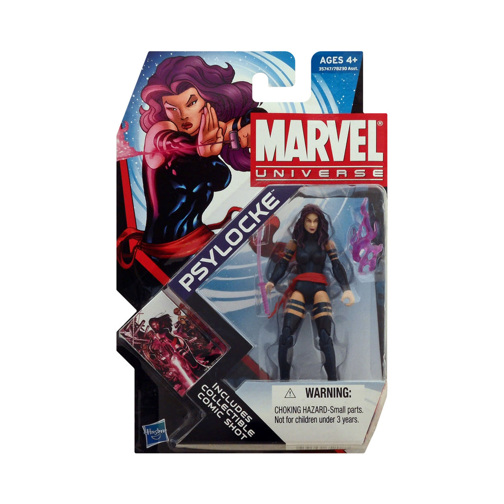 Marvel Universe Series 4 Figure 5 Psylocke