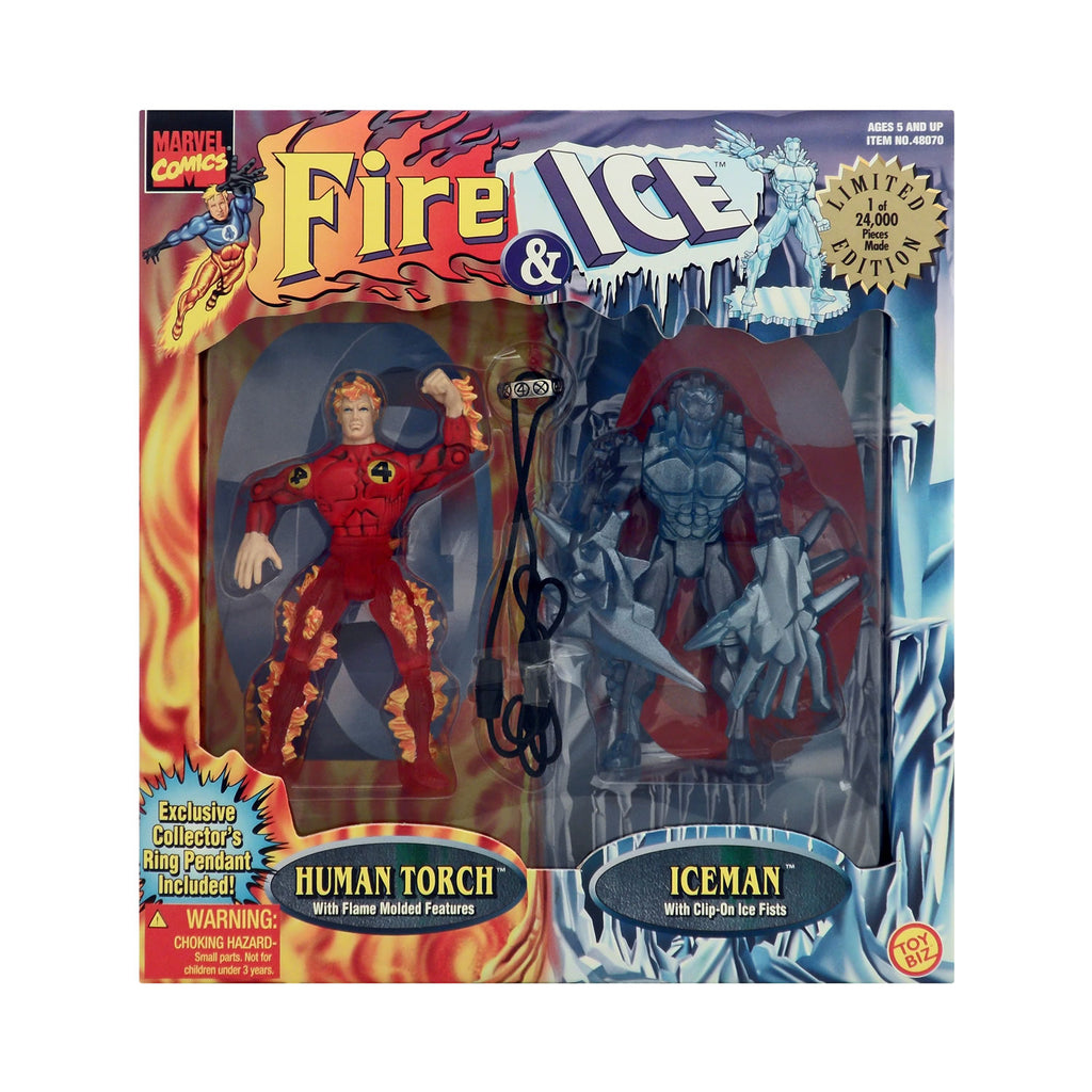 Fire and Ice Human Torch & Iceman