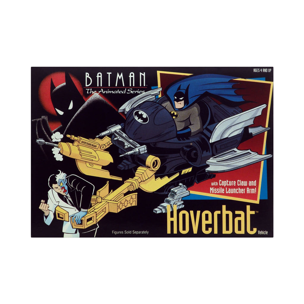 Hoverbat Vehicle from Batman: The Animated Series