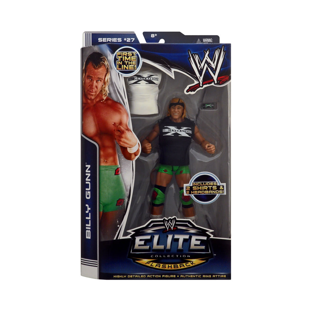 WWE Series 27 Elite Flashback Collection Billy Gunn