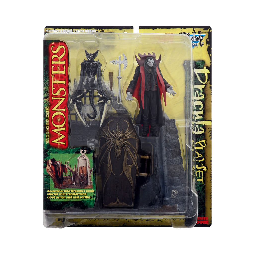 Dracula Playset from Todd McFarlane's Monsters Series 1