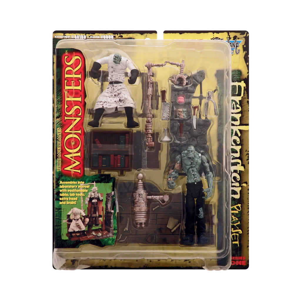 Frankenstein Playset from Todd McFarlane's Monsters Series 1