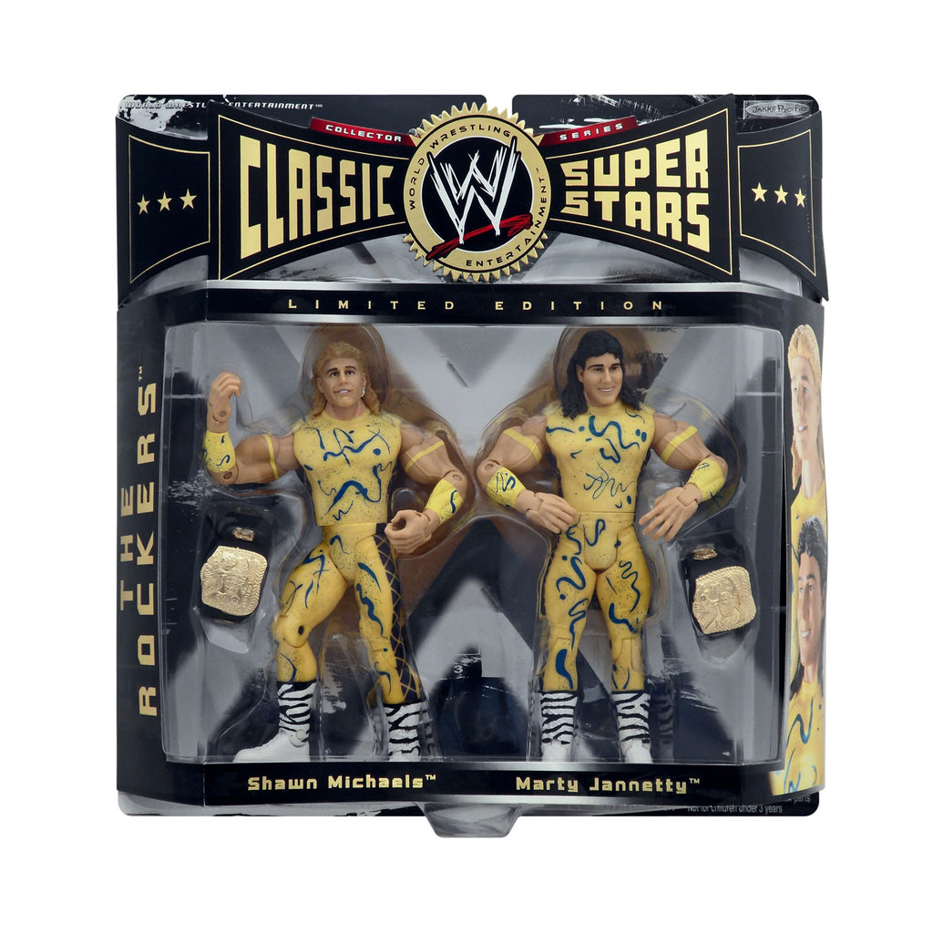 Classic WWE Superstars The Rockers (Shawn Michaels & Marty Jannetty)