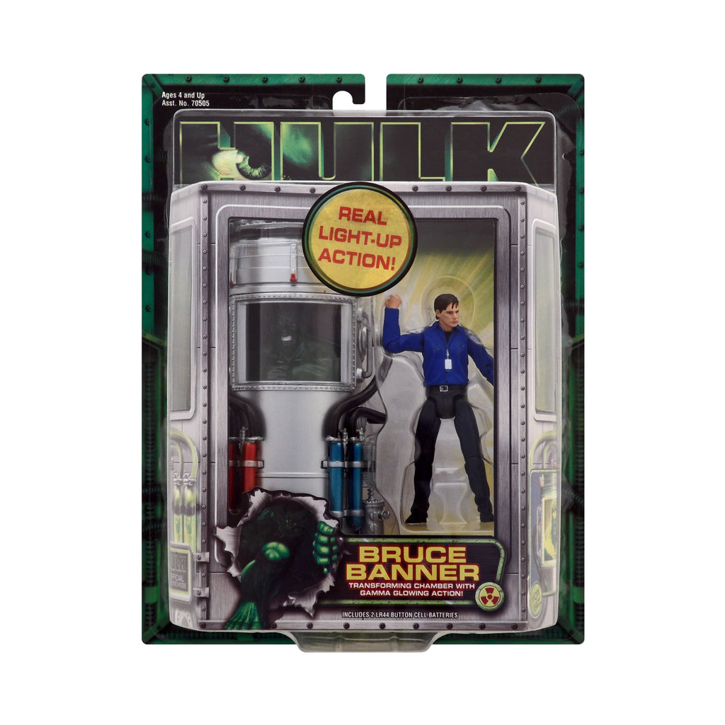 Bruce Banner with Transforming Chamber from the Hulk Motion Picture Series