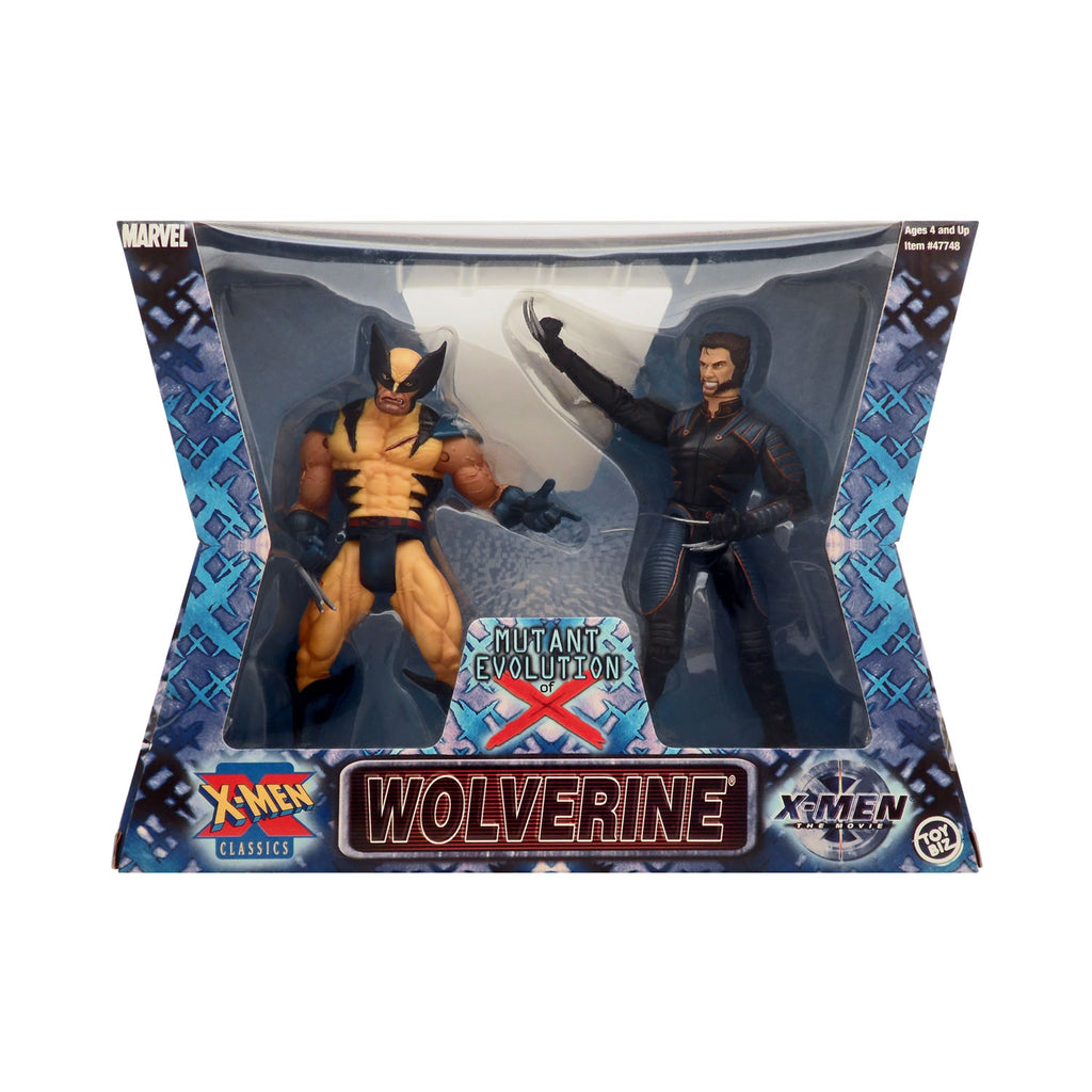 Mutant Evolution of X Wolverine 2-Pack